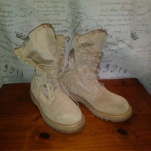 *FREE* Rocky hot weather khaki combat boots NWOT